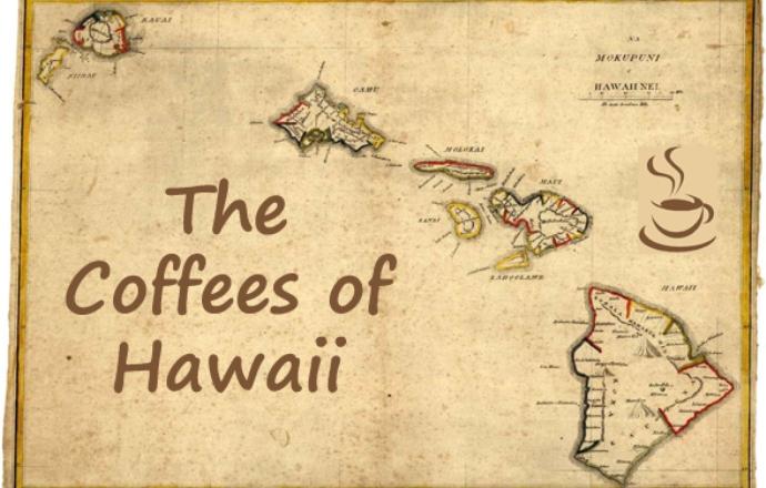 Кофейная карта Гавайи